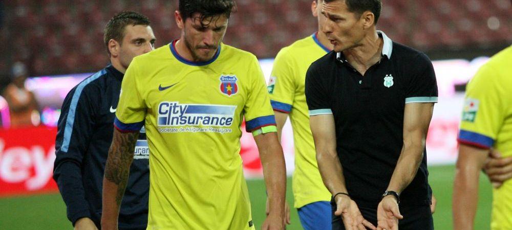 """""""Si-a facut datoria la Steaua, sper sa mearga la mai bine"""". Galca a vorbit despre posibila plecare a lui Tanase"""