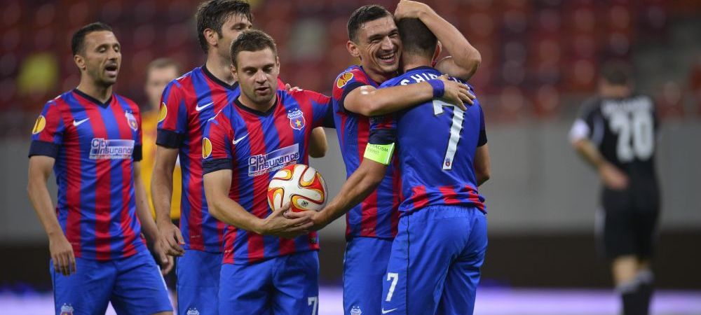 """Steaua a facut SCORUL serii in Europa, KILLERUL Keseru ii multumeste lui Arlauskis: """"Am strans rau din fund in prima repriza"""""""