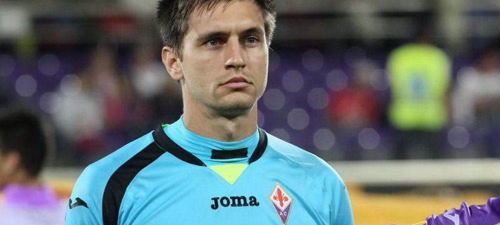 """""""Debut EXCELENT"""" Tatarusanu, titular pentru prima data la Fiorentina! Cum s-a descurcat in Europa League"""