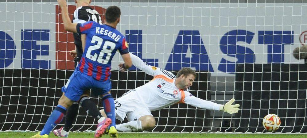 A visat toata viata sa joace in Europa dar Steaua i-a dat 5 goluri intr-o repriza! Ce a declarat dupa meci portarul lui Aalborg