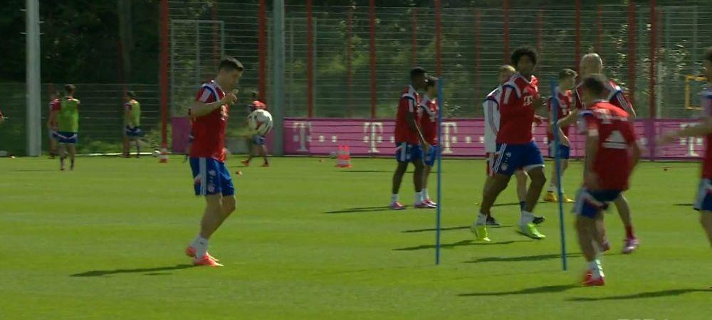 La Bayern, distractia e la ordinea zilei! De asta il iubesc jucatorii pe Pep! Antrenamentul demential inventat de Guardiola VIDEO