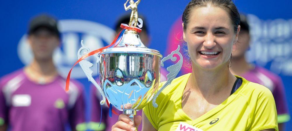 Salt spectaculos pentru Monica Niculescu: a urcat 19 locuri dupa ce a castigat turneul de la Guangzhou! Cum arata clasamentul WTA: