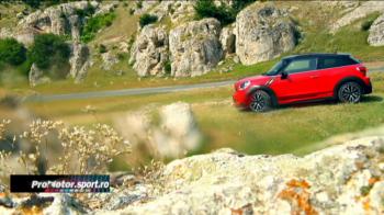 Test drive ProMotor: cel mai tare Mini a ajuns pe Cheile Dobrogei! Imagini superbe in Romania! VIDEO
