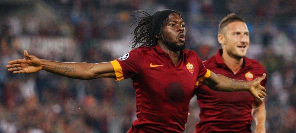 FOTO DEMENTIAL   Cum arata Gervinho fara celebra sa bentita! Fanii au ramas socati la ultimul meci al Romei :)