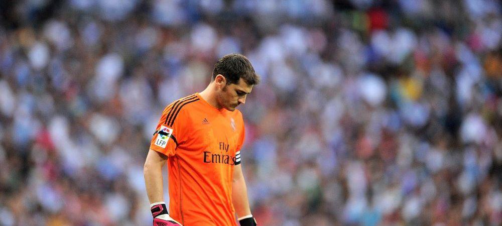 """Veste de COSMAR pentru Casillas: """"Ancelotti i-a spus deja, s-a resemnat!"""" Anunt de ULTIMA ORA in Spania"""