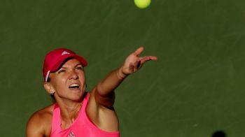 Simona Halep spera sa ramana pe locul 2, Sharapova ii ameninta pozitia! Revenire incredibila de la 0-1 la seturi