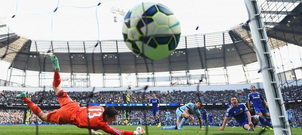 IMAGINILE nebune de la meciul dintre City si Chelsea! Ce au vazut toti jucatorii pe cerul de deasupra stadionului Etihad! FOTO