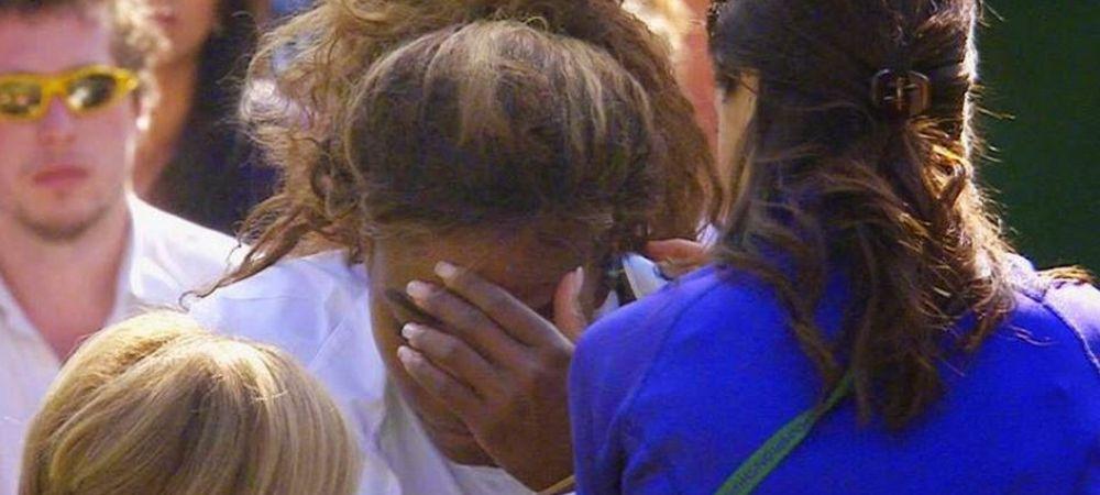 Clipe de groaza pentru Serena Williams! Doctorii au intervenit imediat dupa ce i s-a facut rau!!!