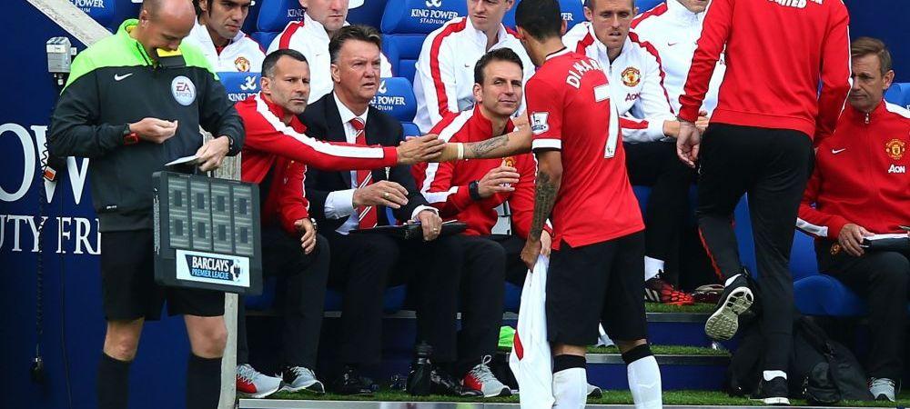 "REVOLTA la Man United! Un jucator, socat de decizia lui Van Gaal la meciul cu Leicester: ""De ce naiba a facut asta?!"""