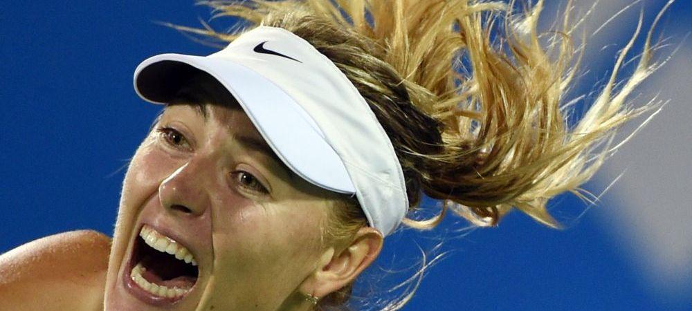Surpriza URIASA: Sharapova, eliminata in China de o jucatoare din calificari! Halep ramane pe locul 2 WTA!