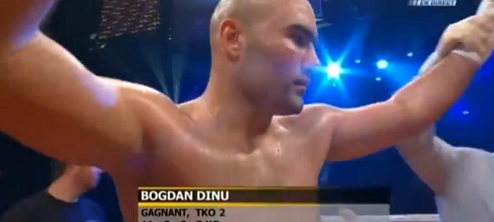 Urmasul lui Bute face ravagii in Canada! Bogdan Dinu a facut KO un gigant la categoria grea. VIDEO