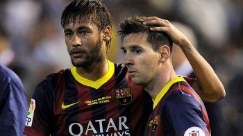 Barcelona se incurca in fata Malagai dupa 8 ani si 12 victorii consecutive! Messi si Neymar au stabilit un record NEGRU