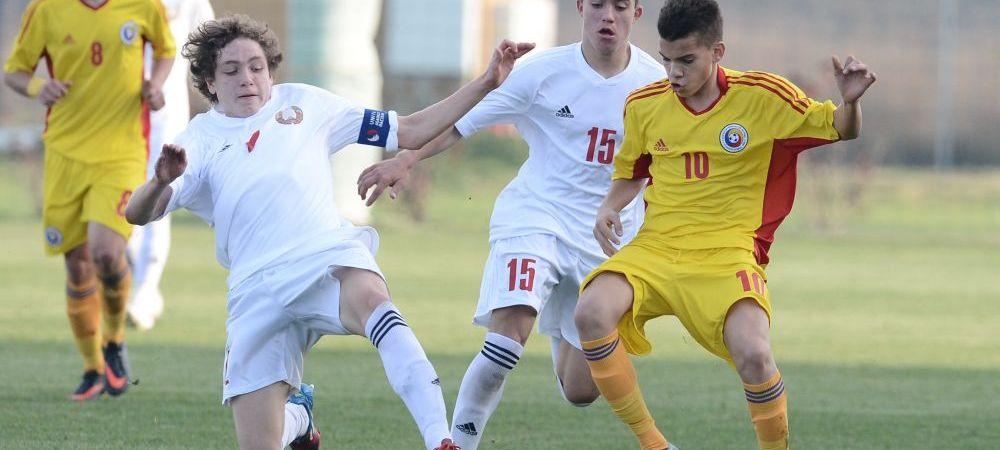 Romania U17, primul meci in drumul spre Euro: azi jucam cu Cehia, ora 16:00, LIVE pe www.sport.ro!