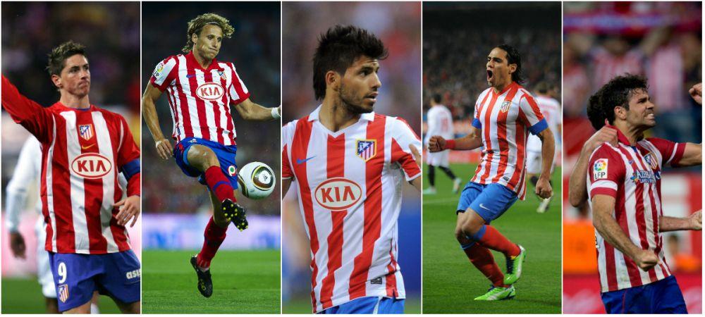 "Paradoxul ""fabricii de goleadori"" Atletico. Echipa care i-a creat pe Torres, Aguero, Falcao si Costa are un golgheter surpriza"