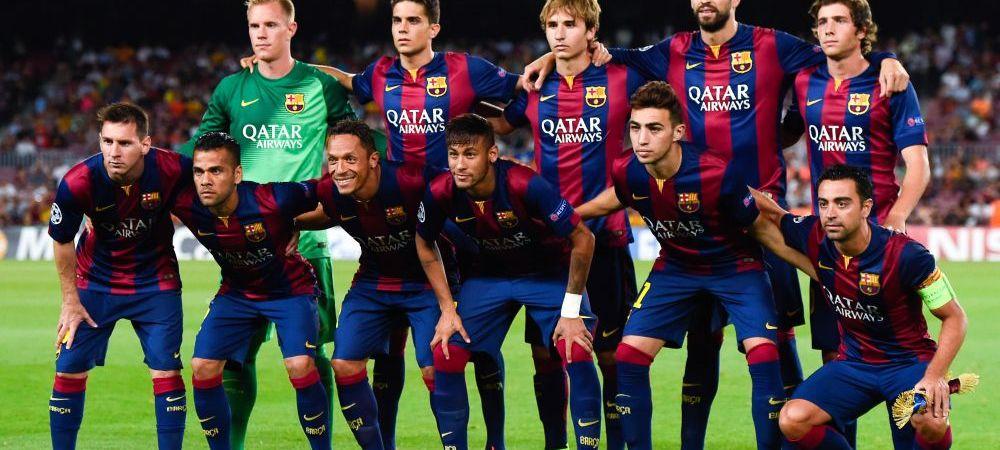 Messi si starurile Barcei s-au delectat cu pizza si ciocolata dupa egalul cu Malaga! Meniul extraterestrilor i-a surprins pe fani