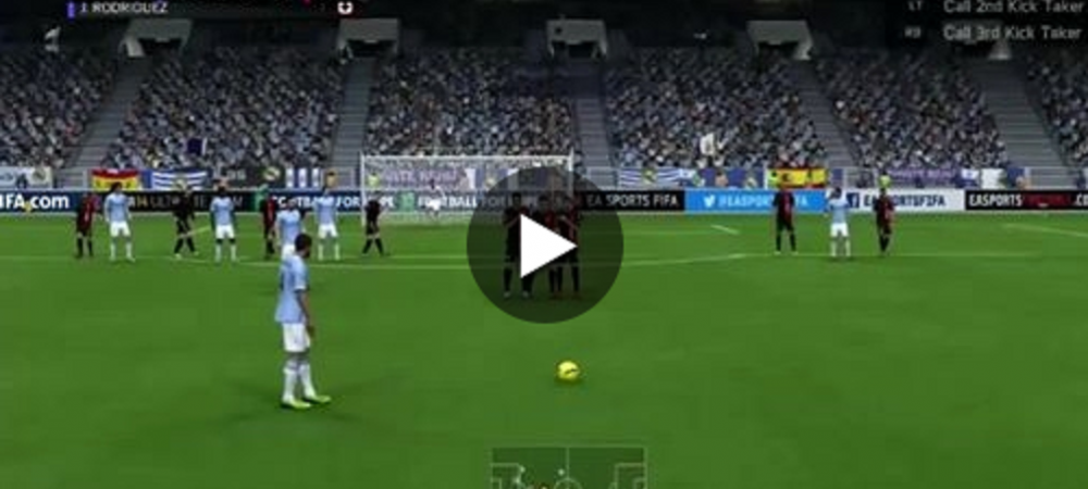 'Asta e cea mai tare lovitura libera vazuta in FIFA!' Schema senzationala care merita TOATE reluarile