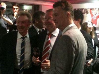 """""""Giggs va fi antrenorul lui United!"""" Van Gaal i-a surprins pe englezi dupa ce a fost vazut pentru prima data alaturi de Ferguson:"""