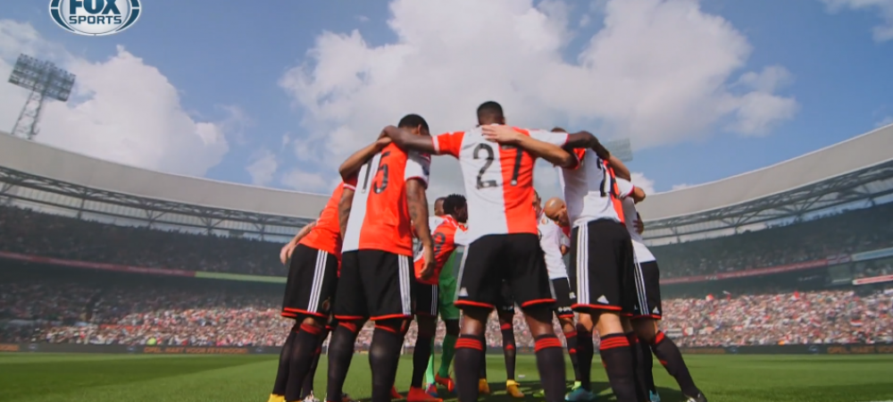 VIDEO FABULOS! FIFA 15 a devenit realitate la Feyenoord - Ajax! Imagini unice pe un teren de fotbal!