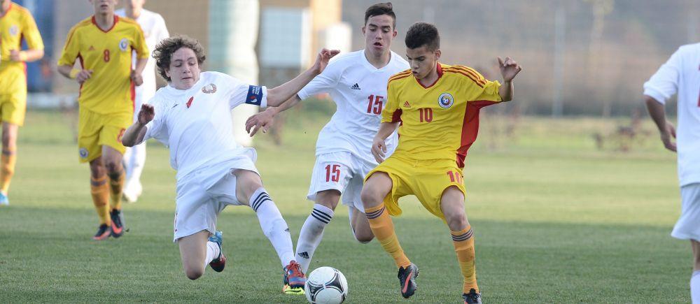 Romania lui Hagi Jr., victorie senzationala cu Danemarca: 6-1! 90% suntem calificati in urmatoarea faza spre Euro!