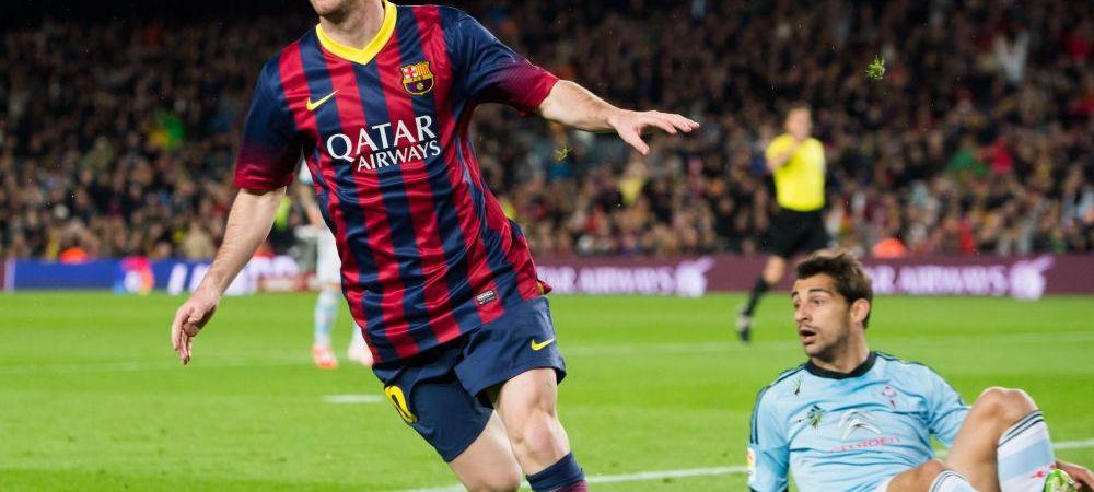 """Cifre EXTRATERESTRE pentru Leo Messi! Starul Barcei a trecut de 400 de goluri si l-a """"batut"""" inca o data pe rivalul Ronaldo"""