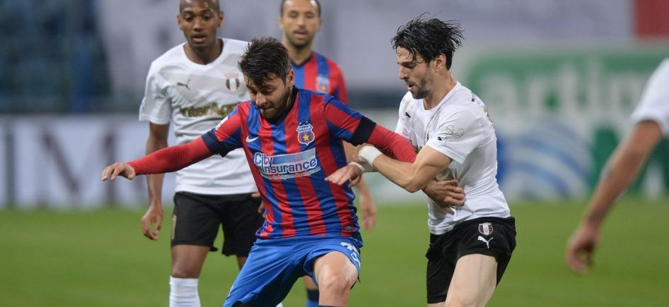 Meci de DOSARELE X: Steaua 0-0 Astra! Budescu a ratat 3 ocazii imense, Chipciu si Breeveld au nimerit bara!