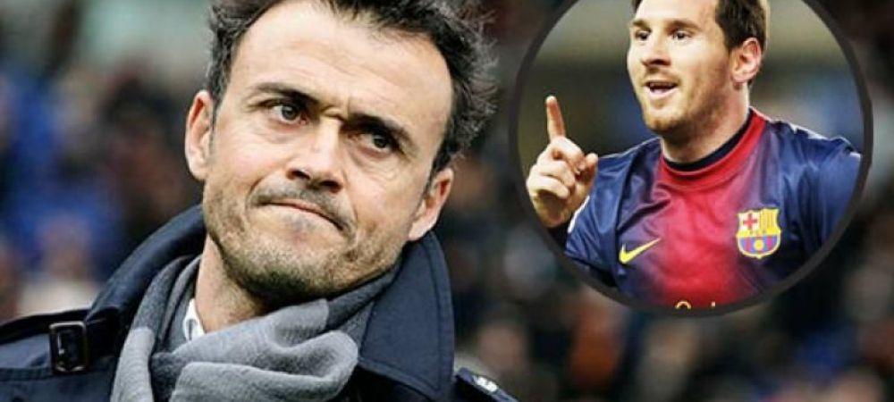 """""""Daca Ronaldo e ca Michael Jordan, de Messi ce sa mai zicem?"""" Cu cine l-a comparat Enrique pe Leo Messi dupa golul 401 din cariera"""