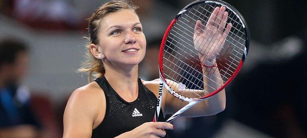 Simona Halep s-a calificat in turul 2 la China Open dupa victoria cu Strycova, scor 6-1, 6-4! Cine este urmatoarea adversara: