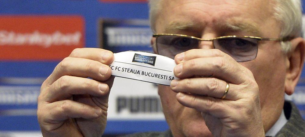 S-au stabilit urnele pentru optimile Cupei Romaniei! Vezi cu cine pot pica Steaua, Dinamo, Petrolul, CFR Cluj sau Pandurii