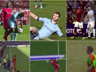 Avalansa de BUG-uri in FIFA 15! Tehnologia video e inutila, starurile au ramas fara cap si maini VIDEO