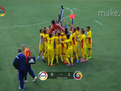 CA-LI-FI-CA-RE! Nationala lui Hagi Jr. merge la Turul de Elita dupa doua victorii in grupa: 6-1 cu Danemarca, 1-0 cu Andorra!