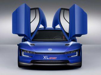 Volkswagen a lansat masina cu motor de motocicleta Ducati! Cum arata conceptul XL Sport! FOTO