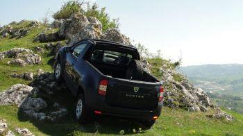 FOTO Dacia a lansat primul Duster Pick-up! Anuntul OFICIAL a fost facut in urma cu putin timp