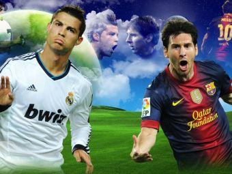 """""""Ronaldo e atlet, Messi e Dumnezeu"""". Un star din campionatul Spaniei vorbeste despre """"eterna lupta"""" din Primera:"""