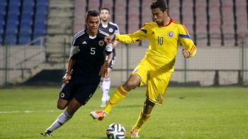 Iancu a dat gol, dar a iesit suparat din teren! De ce nu i-a mai dat Moldovan banderola de capitan la nationala U21