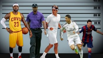 Pentru prima data dupa 6 ani, Tiger Woods nu e cel mai valoros sportiv! CR7 e pe 7, Messi abia a prins topul publicat de Forbes
