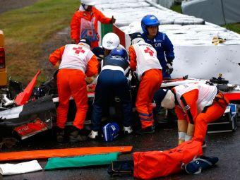 """Bianchi, in stare CRITICA la o saptamana de la accident! Tatal pilotului rupe tacerea: """"A fost accident de trafic, nu de cursa"""""""