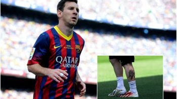 FOTO | Leo Messi si-a facut cel de-al treilea tatuaj! Starul Barcei, un nou desen dedicat fiului sau! Vezi cum arata:
