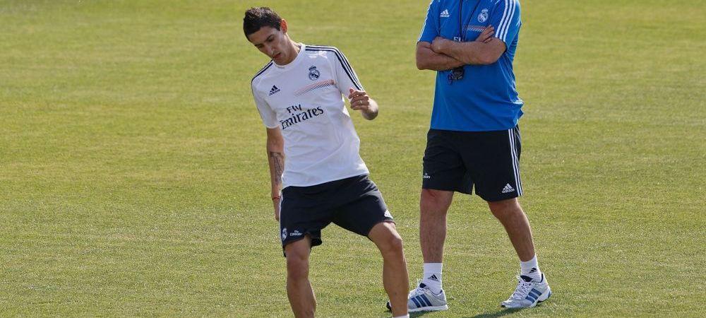 """Ancelotti, dezvaluire """"bomba"""" in cazul plecarii lui Di Maria! Antrenorul Realului a vorbit pentru prima data despre transfer"""