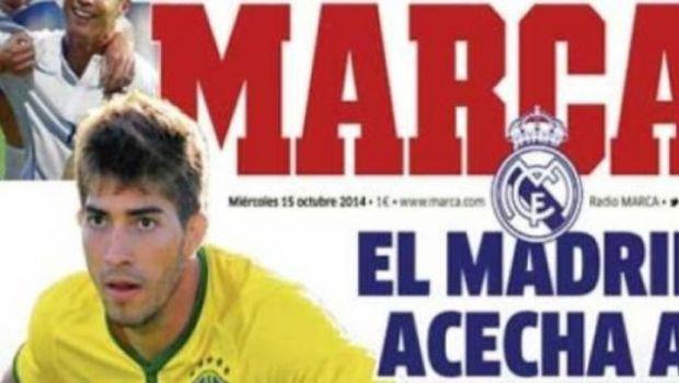 Real Madrid pregateste transferul unuia dintre cei mai tari pusti ai Braziliei. 15 mil euro pentru un mijlocas de nationala