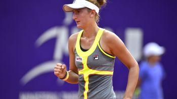 Victorie de senzatie pentru Irina-Camelia Begu: a invins a doua favorita a turneului de la Moscova!