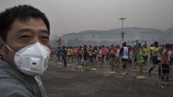 Chinul din China! Imagini fantastice de la Maratonul infernului din Beijing, orasul ramas fara oxigen. Galerie FOTO