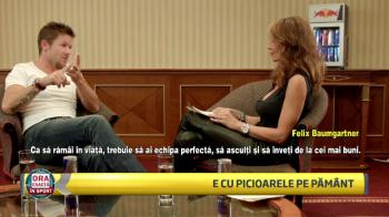 """""""Mi-ar placea sa ajung pe Luna, stii?"""" Interviu EXCLUSIV cu Felix Baumgartner, omul fenomen care s-a aruncat din stratosfera"""