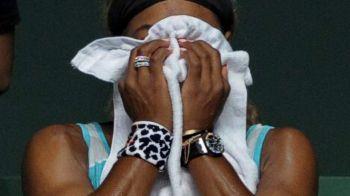 FOTO Imagini INCREDIBILE! Serena Williams a cedat nervos! Cum a reactionat dupa o noua umilinta, ca in meciul cu Halep!