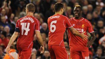 ATENTIE, a marcat Balotelli! Super-Mario a salvat-o pe Liverpool, era 0-1 in minutul 85! Nebunie pe Anfield pana la final. VIDEO