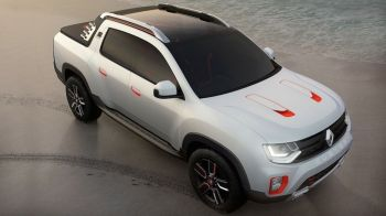 Imagini oficiale cu Dacia Oroch, modelul pickup Duster. Arata spectaculos, iar interiorul e de nerecunoscut
