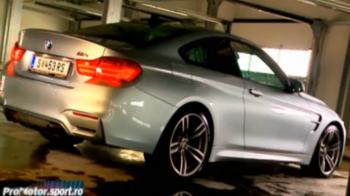 Test ProMotor cu cel mai DIABOLIC BMW din Romania: M4 Coupe! Vezi VIDEO