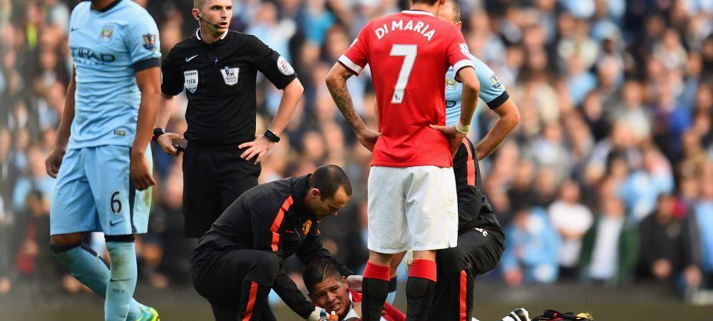 Lovitura TERIBILA pentru Van Gaal! Rojo are umarul dislocat si nu va mai juca in 2014! Verdicul CRUNT al medicilor