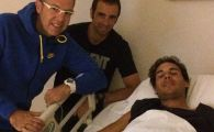 FOTO: Imagini cu Rafa Nadal pe patul de spital! Cand revine in tenis dupa ce a fost operat de apendicita: