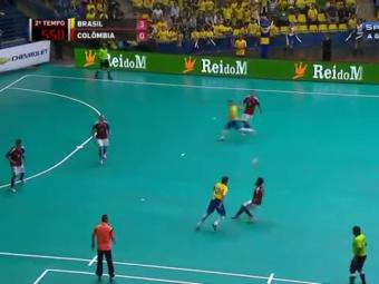 Zeul fotbalului in sala revine cu un dribling SENZATIONAL! Nici Ronaldinho nu reusea asa ceva! VIDEO