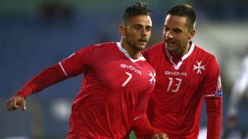 """Malta, surpriza serii in Europa! Bulgarii s-au facut de ras in fata unei echipe de """"ospatari"""". Ce s-a intamplat: VIDEO"""